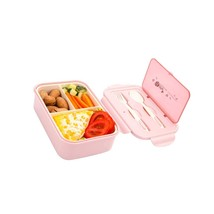 Divided Bento Lunch Box For Kids Adults, Leakproof Lunch Box 3 Compartme... - $29.99