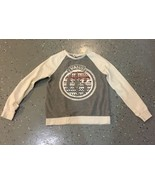VANS off the Wall Gray crewneck sweatshirt sweater women size Small - $18.69