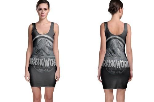 Jurassic world bodycon dress