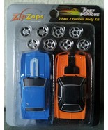ZIP ZAPS 2 Fast 2 Furious 1969 CAMARO 1970 CHALLENGER micro body kit RC ... - $7.00