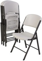 Lifetime Commercial Grade Contoured Folding Chair, Select Color - 4 Pack - $157.75