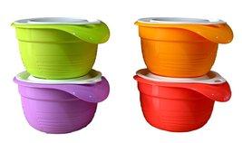 Tupperware Versa Plastic Bowl Set, 650ml, Set o... - $66.55