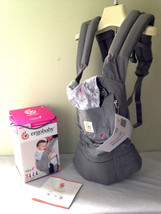 NEW! Ergobaby Limited Edition Susan G. Komen Pink Ribbons Grey Original... - $95.00