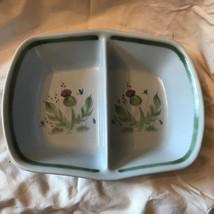 "Buchan Portobello Scotland Thistle Divided Baker 11"" Stoneware Thistleware - $18.65"