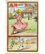 A Home Run for Mommer Vintage 1911 Post Card - $7.00