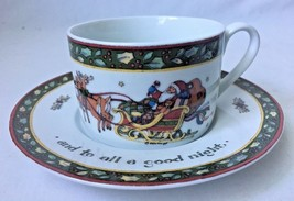 Susan Winget A Christmas Story Cup and Saucer International China - $9.95