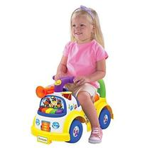 Little People Fisher-Price Music Parade Ride-On, White - $45.99