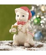 Lenox Holiday Spirit Cat Sculpture Ornament - $39.00