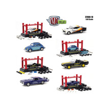 Model Kit 4 pieces Set Release 18 1/64 Diecast Model Cars by M2 Machines... - $57.35