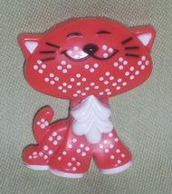 Rare Vintage Mod 1970s PIN PAL Avon Childs CALICO CAT KITTEN Fragrance G... - $15.00
