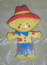 Rare Vintage Mod 1970's PIN PAL Avon Scarecrow Fragrance Glace Childs Pin - $18.00