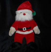 """16"""" Vintage Ty 2000 Gorro Amigo Navidad Santa Claus Peluche Juguete de F... - $17.59"""