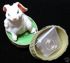 Sterling Silver Hoop Earrings in Bunny Basket - NIB - $18.33