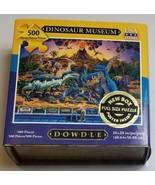 """Dinosaur Museum Puzzle Dowdle 500 PIECE Puzzle 16x20"""" - $16.82"""