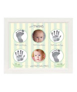 Two Times Handprint Footprint Frame - $40.00