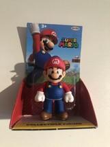 World of Nintendo Super Mario Bros Mario Jakks Pacific Collectible Figure - $10.00