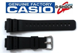 Casio G-Shock DW-6695 (All Models) 16mm Black Rubber Watch Band DW-6695D - $22.45
