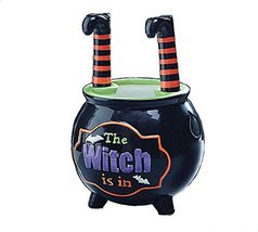 Witch Is In Halloween Dip Bowl & Spreader Set - $17.99+