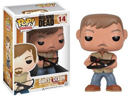 The Walking Dead Tv Series Daryl Dixon Vinyl Pop! Figure Toy #14 Funko New Mib - $12.55