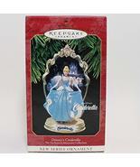 Hallmark Keepsake Ornament – Disney's Cinderella – First in the Enchanted Memori - $13.86
