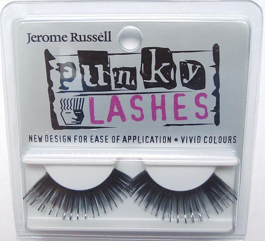 Jerome Russell PUNKY LASHES False Eyelashes BLACK Bonanza