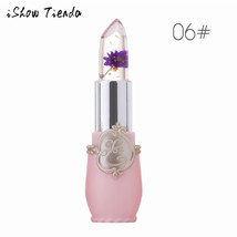 BAHYHAQ - Lip Balm Flower Crystal Jelly Lipstick Magic Temperature Chang... - $5.24