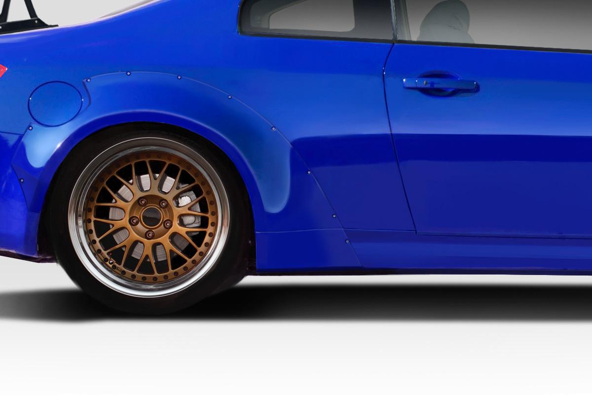 03-07 Fits Infiniti G Coupe Sport Circuit Duraflex 75MM Fender Flares Kit 113283