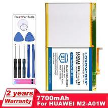 LOSONCOER 7700mAh HB26A510EBC Batteries For Huawei MediaPad M2 10.1 flat cell M2 - $36.62