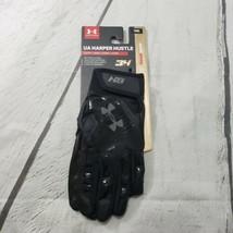 Under Armour Harper Hustle Batting Gloves Youth Size Medium Bryce Harper... - $35.63