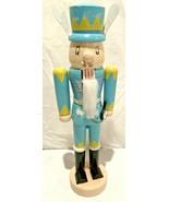 "Wooden Nut Cracker...Rabbit...11"" Tall - $7.91"