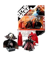 Star Wars Year 2007 Unleashed Battle Packs Series 2-1/2 Inch Tall Figure... - $44.99