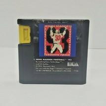 John Madden Football '93 (Sega Genesis, 1993) - $5.90
