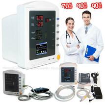 Handheld ICU Patient Monitor Color LCD Vital Signs Monitor SPO2 NIBP PR ... - $192.36