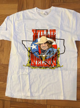 Willie Nelson 1980s Outlaw Country Reggae Rock and Roll  t-shirt gildan ... - $24.99+