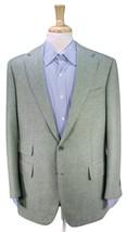 BURDI by Saint Andrews Green Twill 100% Cashmere 2-Btn Sportcoat Blazer 42R - $245.00