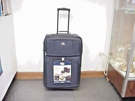 "American Tourister  Valencia II 24"" Expandable Upright Wheeled Suitcase - $59.99"