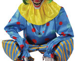 Halloween Lifesize Animated CROUCHING BLUE CLOWN CEMETERY Prop Haunted House NEW - $4.089,51 MXN
