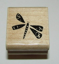 Dragonfly Rubber Stamp Close To My Heart Wood Mounted Dragonflies Insect #2 - $3.75