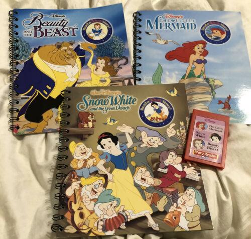 Story Reader: Disney Princess Little Mermaid Snow White Belle 3 Books/Cartridge - $19.79