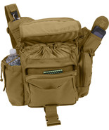 Coyote Brown Jumbo Advanced Tactical Hipster Bag One Strap Shoulder MOLL... - $38.99