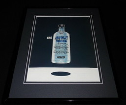 2006 Absolut Vodka 11x14 Framed ORIGINAL Advertisement - $32.36