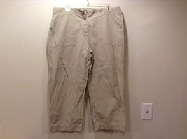 Eddie Bauer Ladies Casual Cropped Pants Sz 14