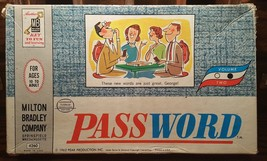 Vintage Milton Bradley Password 1962 Volume 2 Two Made In USA 4260 Complete - $13.95