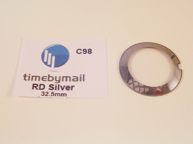 For RADO COUPOLE SILVER Watch Replacement 32.5mm Glass Crystal Spare Part C98