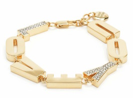 Juicy Couture Bracelet Pave Crystals Love You NEW - $47.52