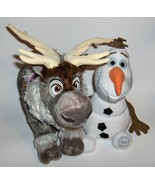 "Disney Store Frozen Reindeer Sven Plush  16"" Stuffed Animal and a  plush... - $36.00"