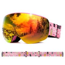 Copozz Professional Children Ski Goggles Anti-fog Frameless Ski Eyewear - $53.59+