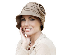 Rosabella Taupe - Sun Hat for Cancer Patients, Summer Chemo Hat for Wome... - $49.00
