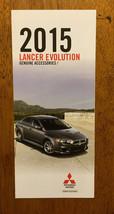 2015 Mitsubishi Lancer Evolution Genuine Accessories brochure pamphlet catalog - $2.99