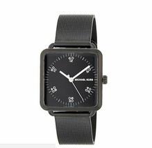 Michael Kors MK3562 Brenner Black Square Unisex Watch - £47.99 GBP